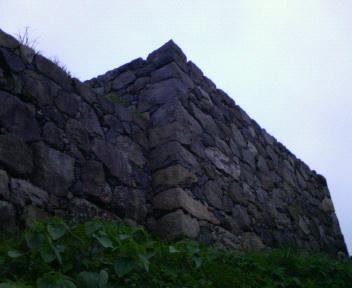 素晴らしい城跡