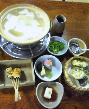 湯豆腐(*^_^*)